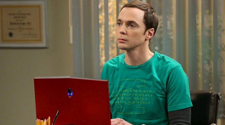 Jim Parsons en 'The Big Bang Theory'