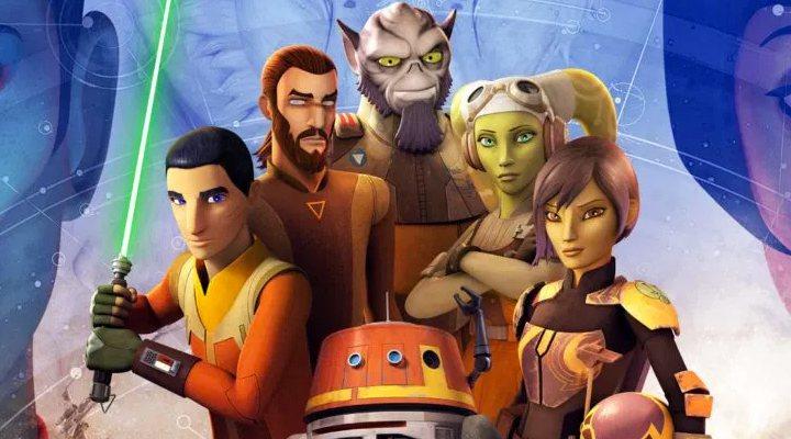 Imagen promocional de 'Star Wars: Rebels'