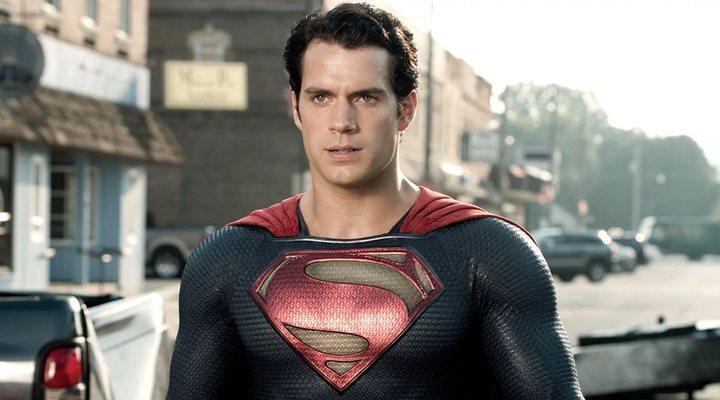 Henry Cavill como Superman en 'El hombre de acero'