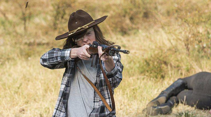 Carl Grimes 'The Walking Dead'