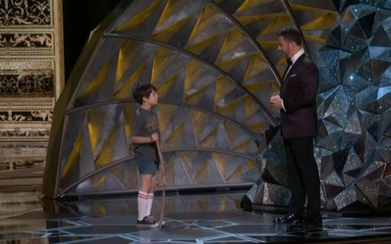 Jimmy KImmel y su versión de 8 años