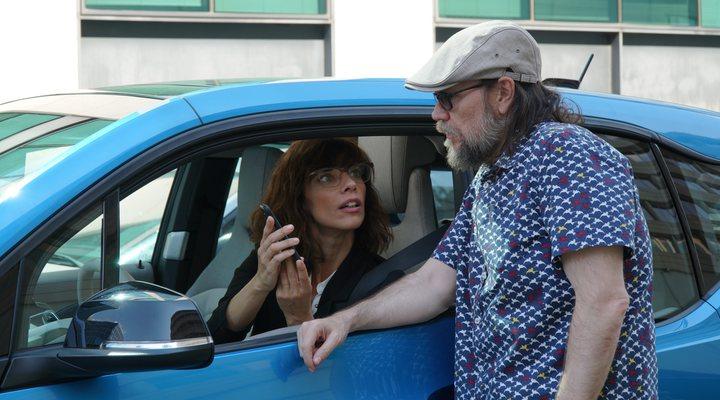 Maribel Verdú y Santiago Segura en 'Sin rodeos'