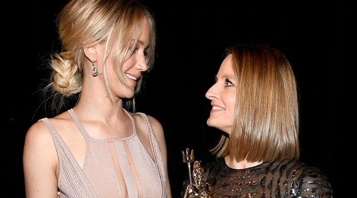 Jennifer Lawrence y Jodie Foster