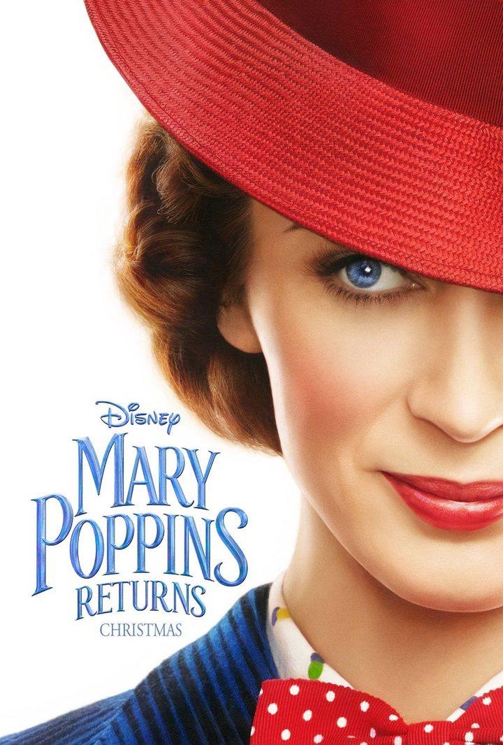 'Primer póster de 'El regreso de Mary Poppins''