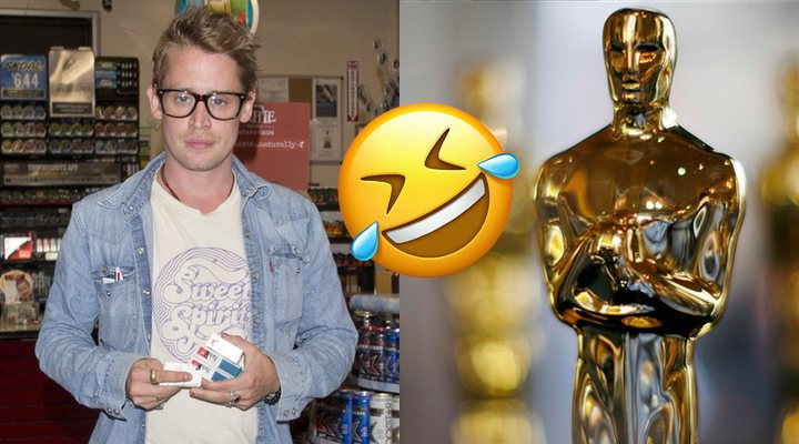 Macaulay Culkin trolea los Oscar