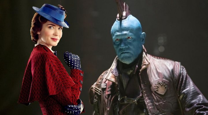'Yondu es Mary Poppins en el nuevo tráiler'