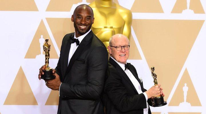 Kobe Bryant y Glen Keane, ganadores del Oscar por 'Dear Basketball'