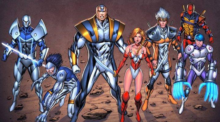 Algunos de los personajes del Universo Extreme