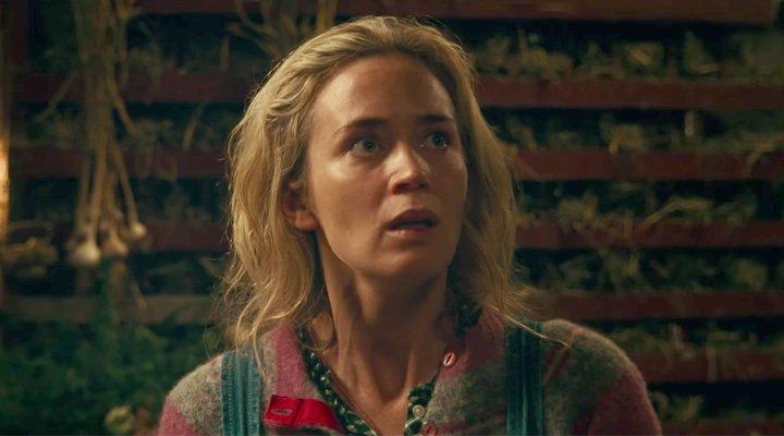 'Emily Blunt en 'Un lugar tranquilo''