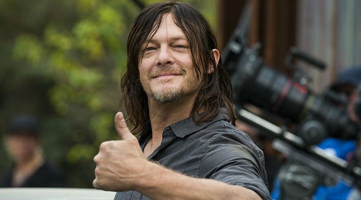 Norman Reedus como Daryl en 'the Walking Dead'
