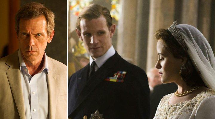 Hugh Laurie, el que podría ser el nuevo Duque de Edimburgo en 'The Crown' junto a Claire Foy y Matt Smith
