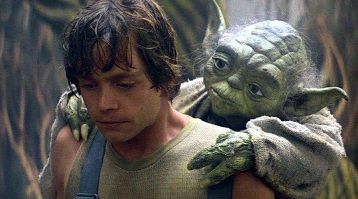 'Luke y Yoda se reencuentran en 'Los últimos Jedi''