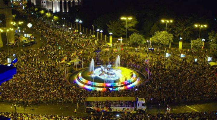 Madrid durante el World Pride de 2017
