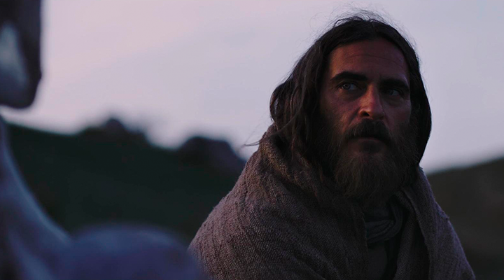 Joaquin Phoenix como Jesús de Nazaret