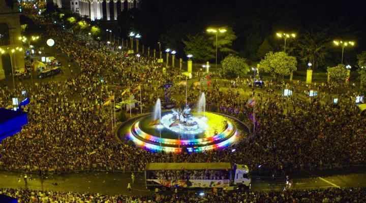 Madrid durante el World Pride 2017