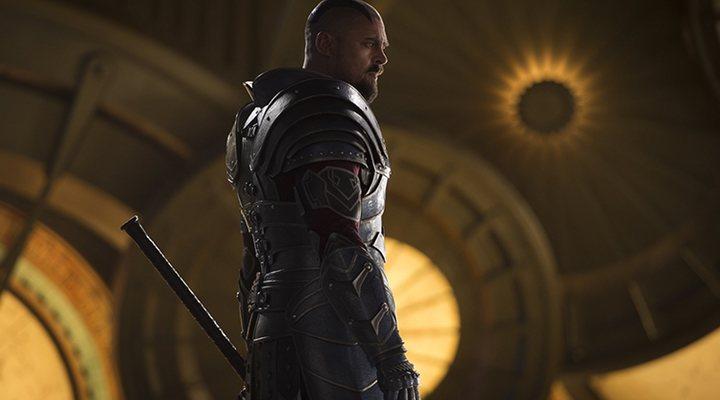 Karl Urban en 'Thor:Ragnarok'