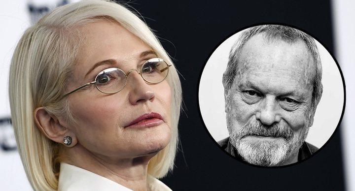 Terry Gilliam y Ellen Barkin
