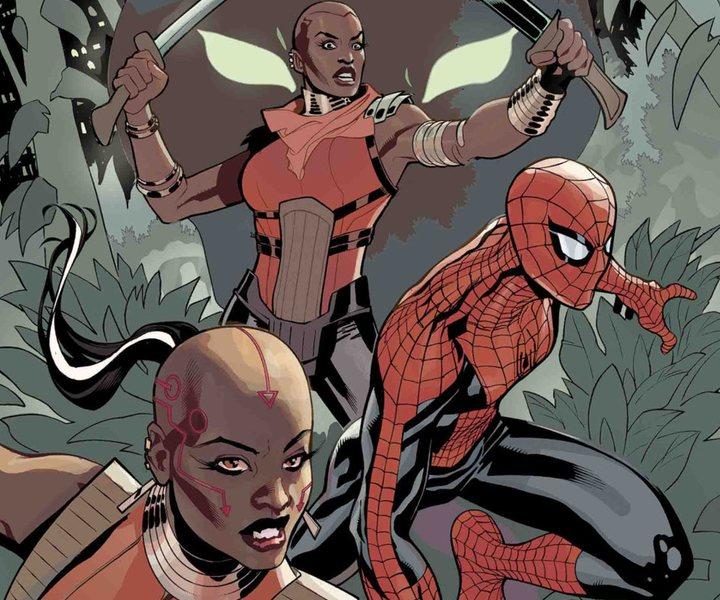 Portada 'Amazing Spider-Man: Wakanda Forever'