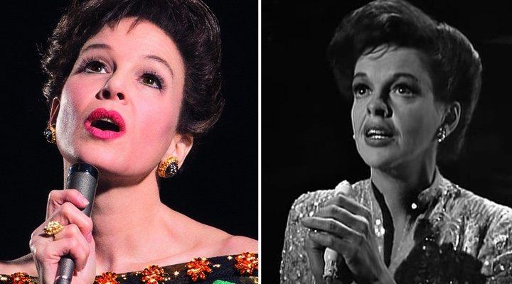 Renée Zellweger y Judy Garland