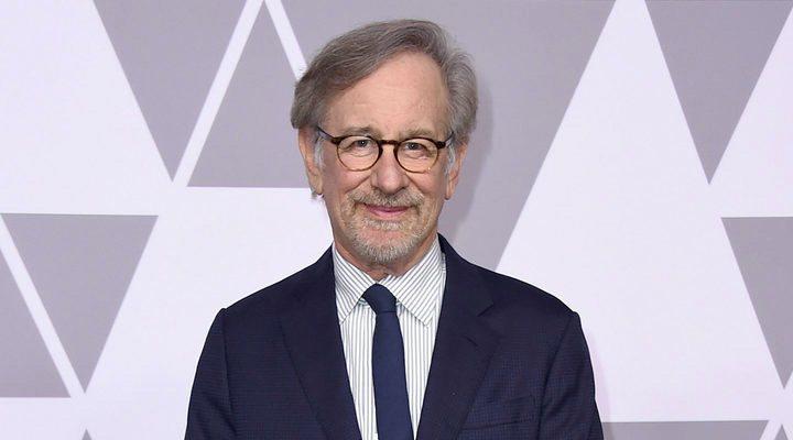 Steven Spielberg en la pasada 90º edición de los premios Oscar