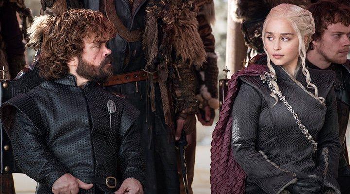 'Daenerys y Tyrion en una escena en Pozo Dragón (Itálica)'
