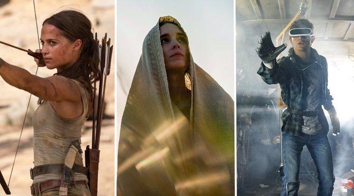 'Tomb Raider', 'María Magdalena', 'Ready Player One'