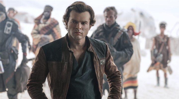 Alden Ehrenreich en 'Han Solo: Una historia de Star Wars'