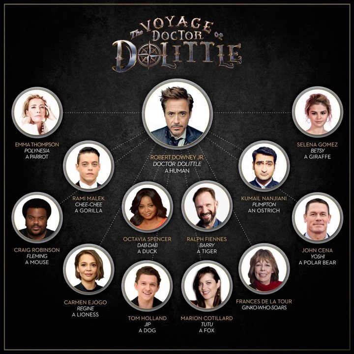 'The Voyage of Doctor Dolittle'