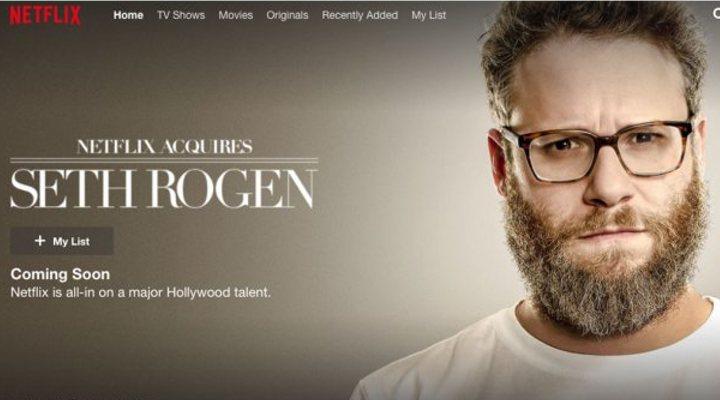 Panel de 'Netflix Acquires Seth Rogen'