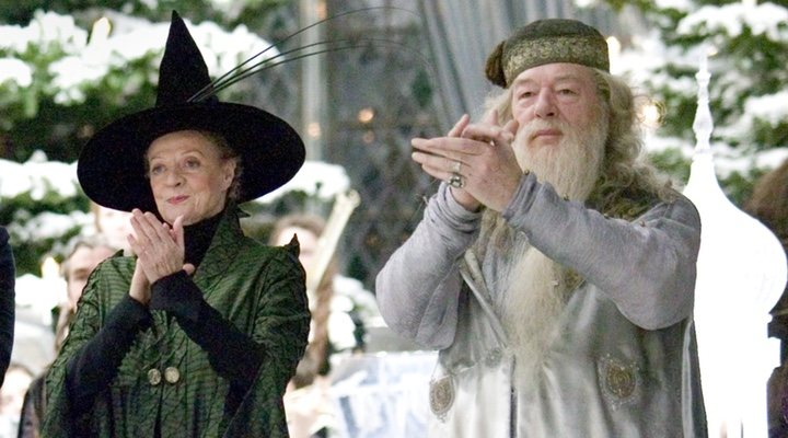 'Harry Potter' Dumbledore McGonagall