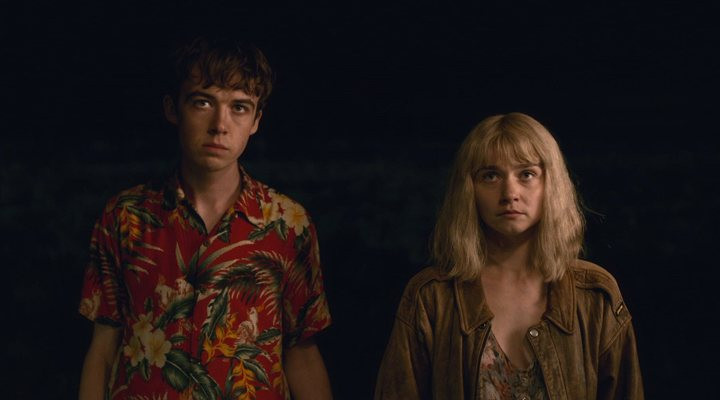 Alex Lawther y Jessica Barden en 'The End of the F***king World'