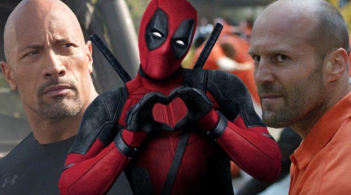 Dwayne Johnson, Deadpool y Jason Statham