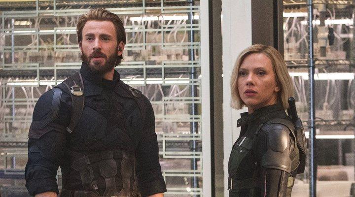 'Vengadores: Infinity War' Chris Evans Scarlett Johansson
