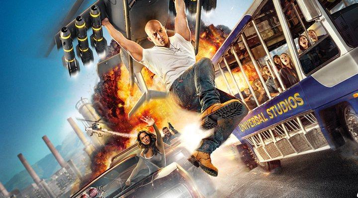 Promoción de la atracción de 'Fast & Furious'