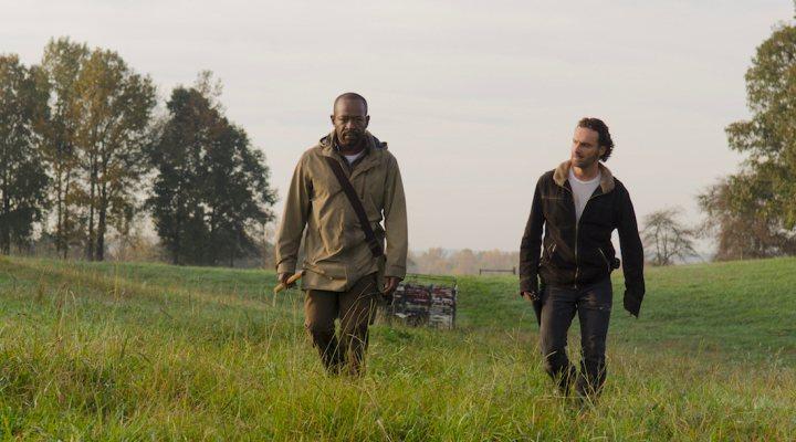 Lennie James y Andrew Lincoln en 'The Walking Dead'