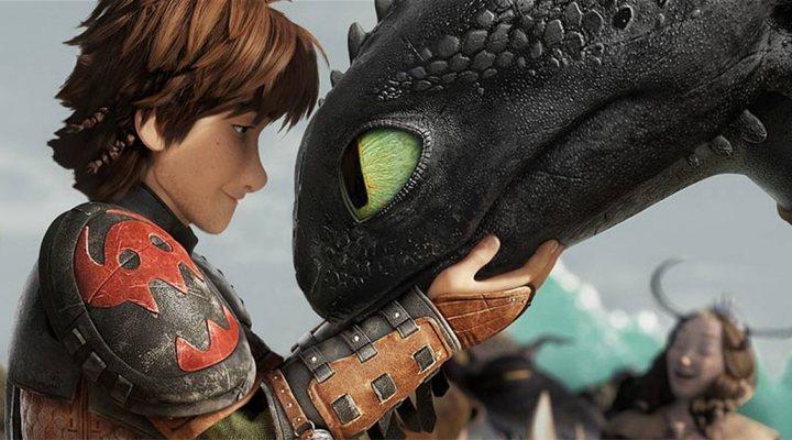 'Cómo entrenar a tu dragón 2'