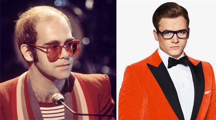 Taron Egerton y Elton John