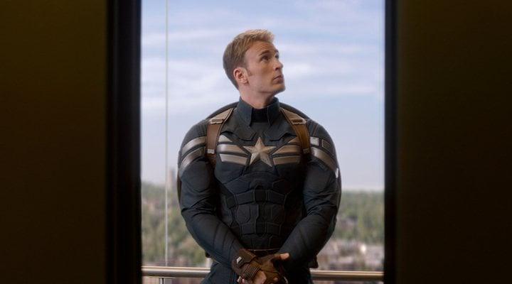 Chris Evans como Capitán América en 'El soldado de invierno'