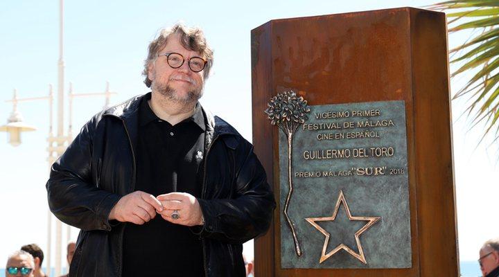 Guillermo del Toro en el Festival de cine de Málaga