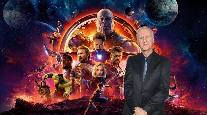 James Cameron contra 'Los vengadores'