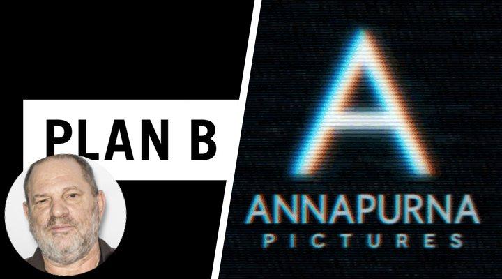 Los de Plan B y Anna Pictures, y Harvey Weinstein