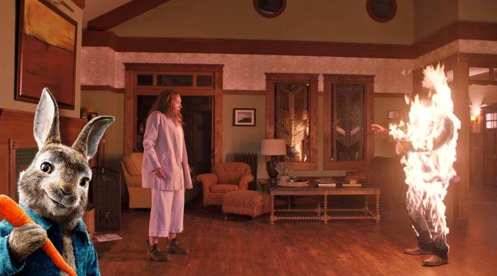 Frame del tráiler de 'Hereditary' y 'Peter Rabbit'