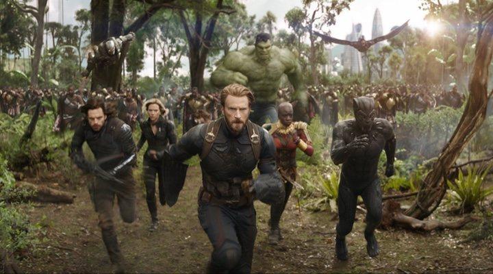 'Vengadores: Infinity War'
