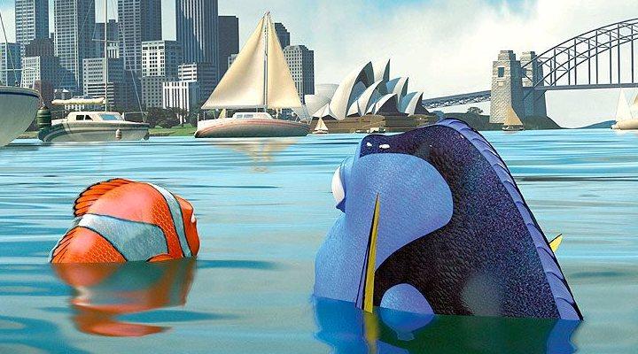 Dory y Marlin en Sydney
