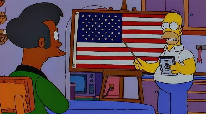Apu en 'Los Simpson'
