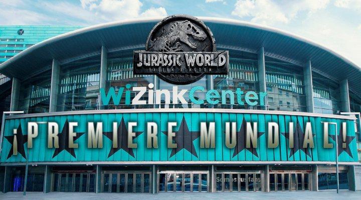 Premiere mundial Jurassic World
