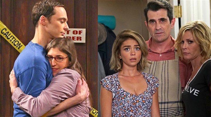 The Big Bang Theory y Modern Family