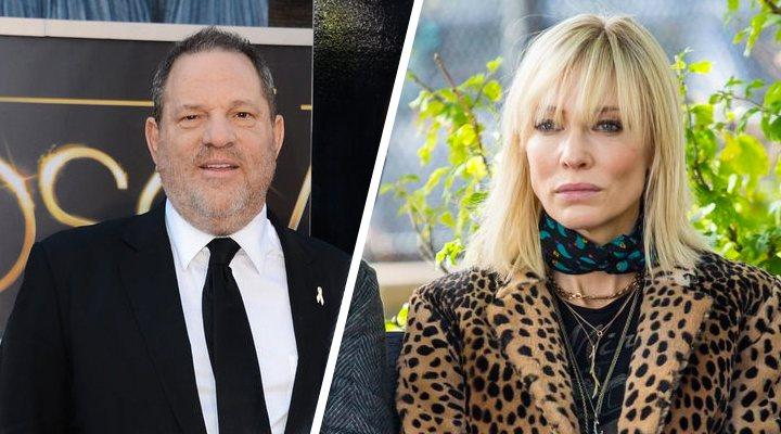 Harvey Weinstein y Cate Blanchett en 'Ocean's 8'