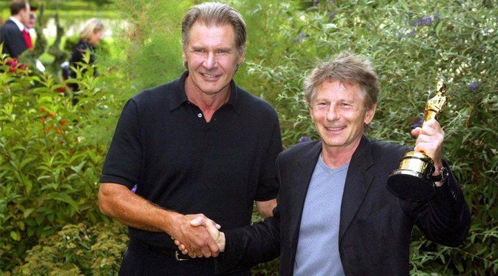 Harrison Ford y Roman Polanski