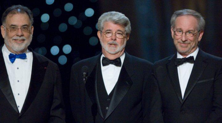 Francis Ford Coppola, Geoge Lucas y Steven Spielberg